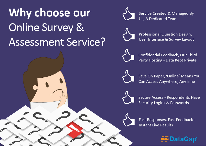 Why choose our Online Survey & Assessment Service ?